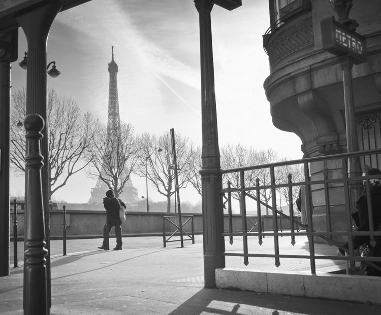 Fotobehang City Love CL43B Parijs