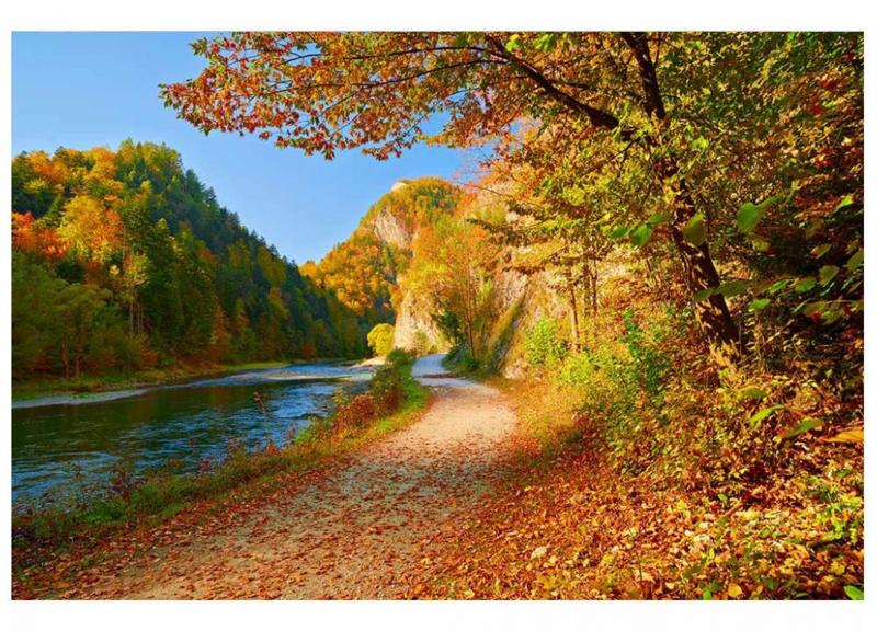 Fotobehang Dunajec rivier