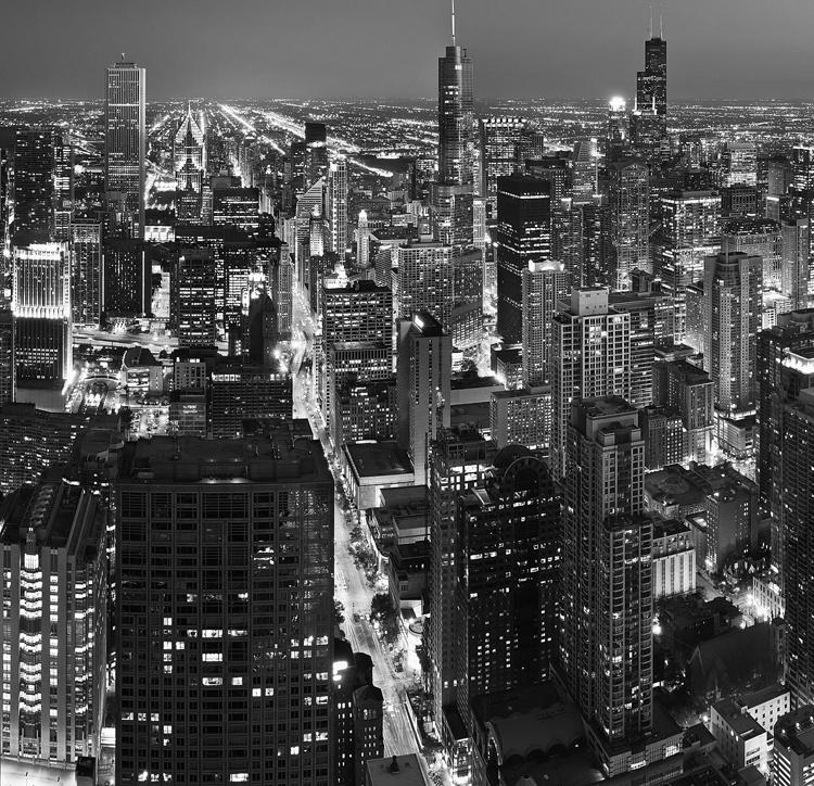Fotobehang City Love CL44B Chicago