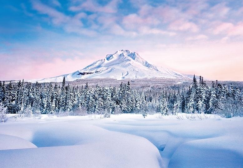 Fotobehang Idealdecor 00124 Mountain Graceful