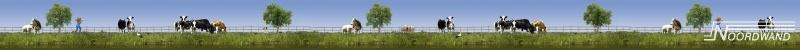 Behangrand Noordwand Farm life 3750039