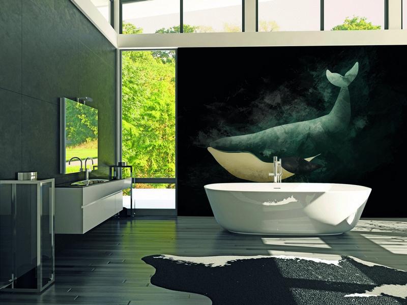 Fotowand Wal dark by Sabrina Ziegenhorn afm. 400cm x 270cm hoog