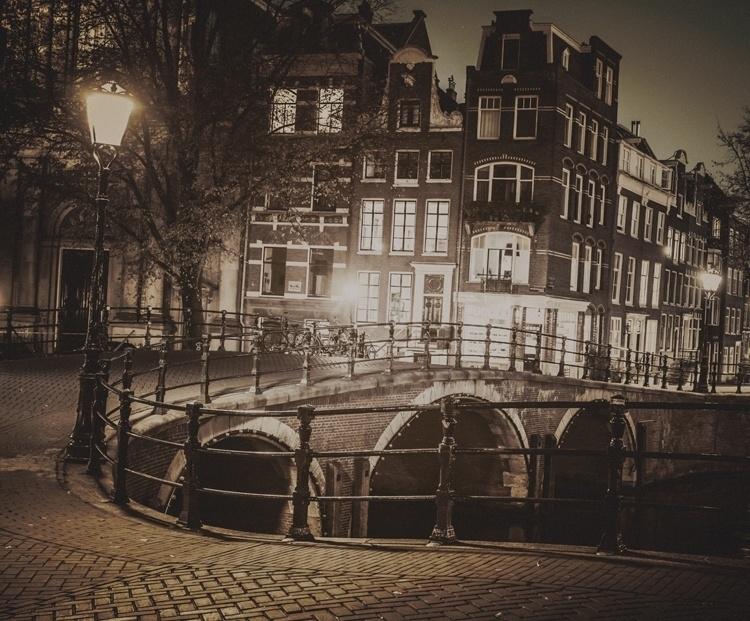 Fotobehang City Love CL39C Amsterdam