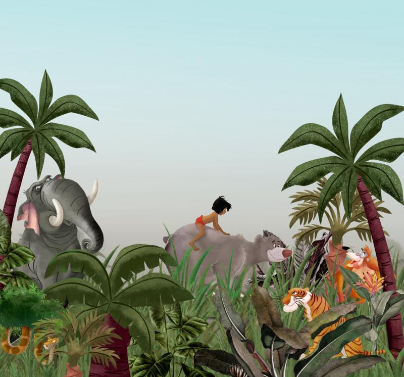 Komar fotobehang DX6-020 Jungle Book