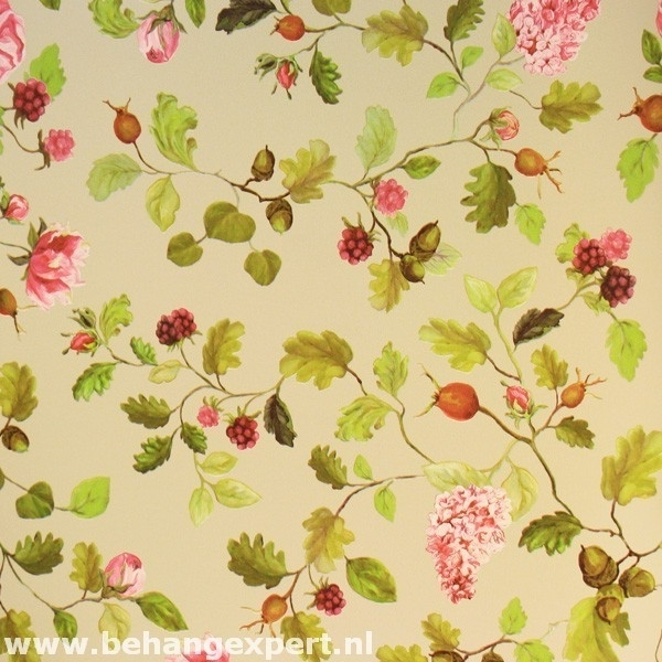 Behang Eijffinger Un Bisou 365002 bloemen
