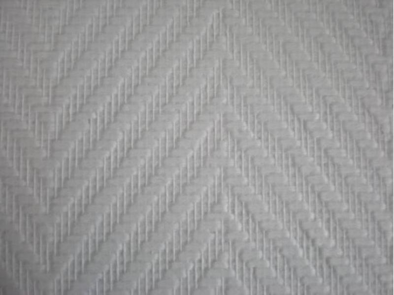 Glasweefselbehang 25.0mtr motief grote visgraat XXL 81714