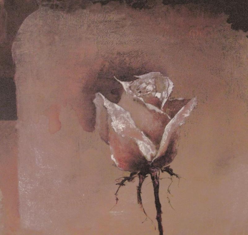 Evolution l  Fotobehang Painted  Rose 1088