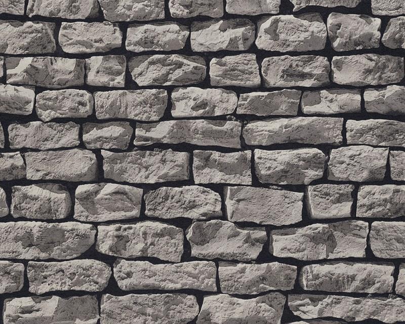 AS Creation Wood `n Stone 9079-29 Ruwe baksteen behang