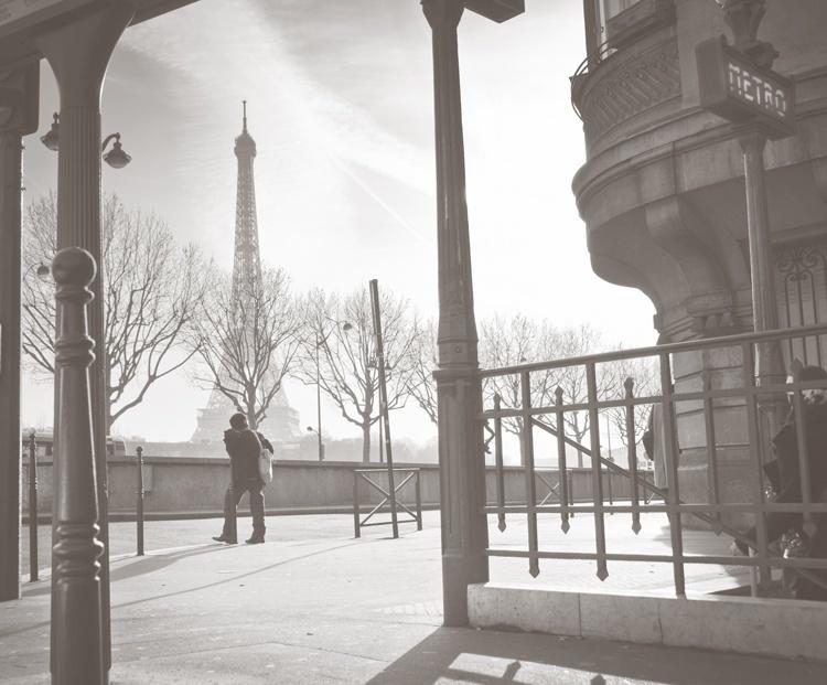 Fotobehang City Love CL43A Parijs