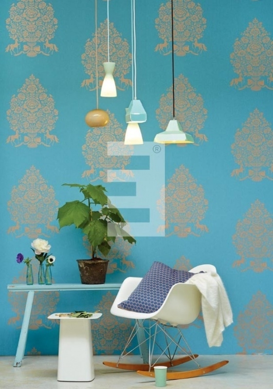 Eijffinger Pip Studio behang 341052 Pip for president Light Blue