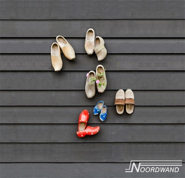 Fotobehang Noordwand Farm life 3750018 wooden shoes