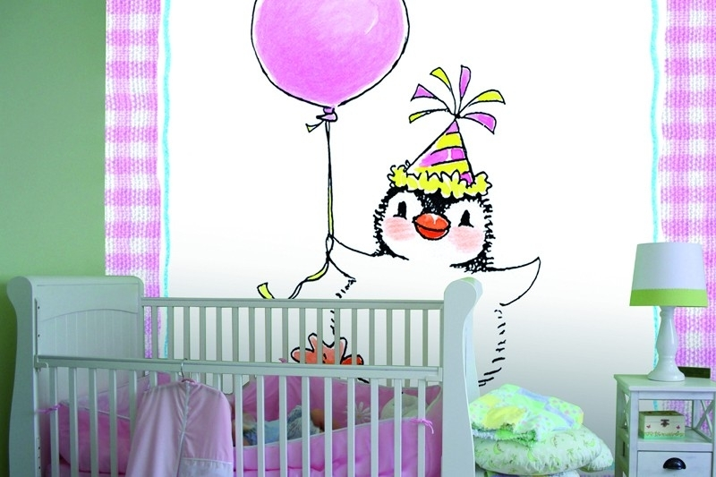 Sweet Collection by Monica Maas - Penguin on Pink art. 5052
