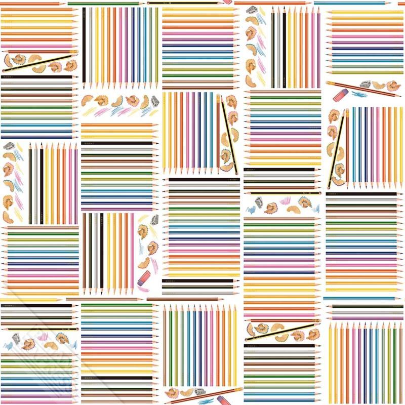 Behangexpresse Thomas - WE 66234 kleurpotloden