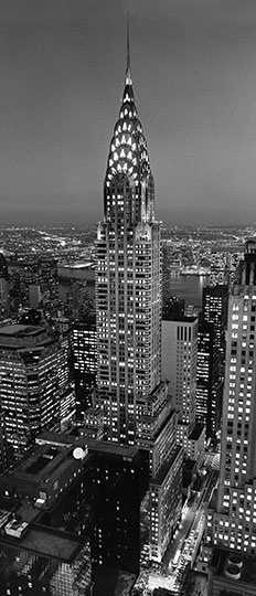 Fotobehang Idealdecor 00521 Chrysler Building