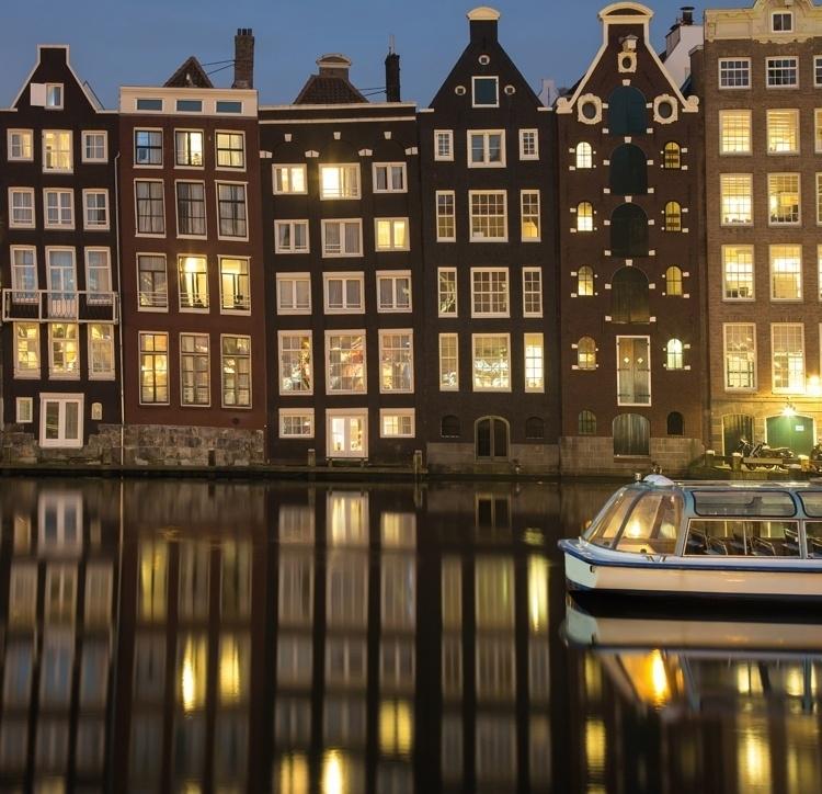Fotobehang City Love CL13A Amsterdam
