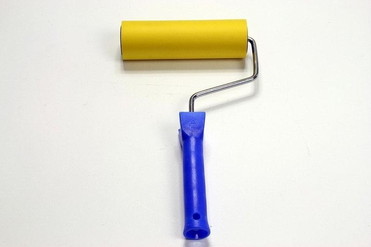 Aandrukroller 15cm rubber