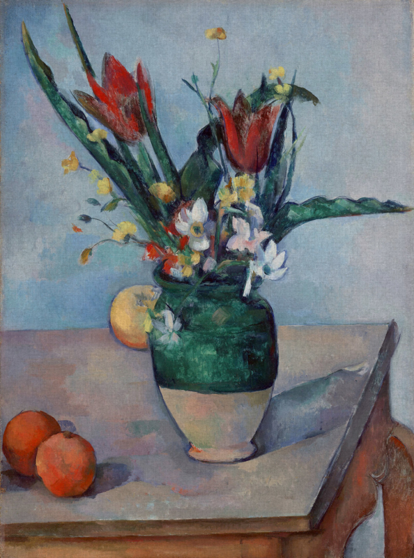 Dutch Painted Memories 8086 The vase of tulips