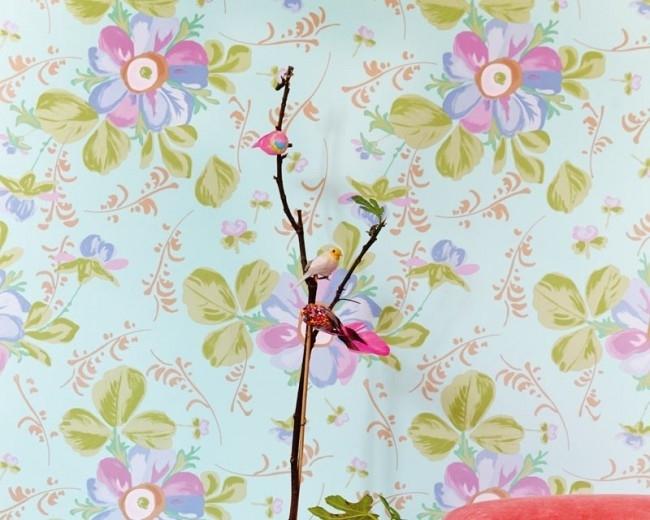 Behang Eijffinger Rice 359041 bloemen