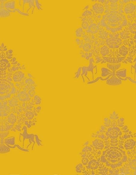 Eijffinger Pip Studio behang 341056 Pip for president Yellow