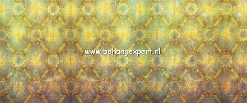 Fotobehang AP Digital 470028 Used Look Green