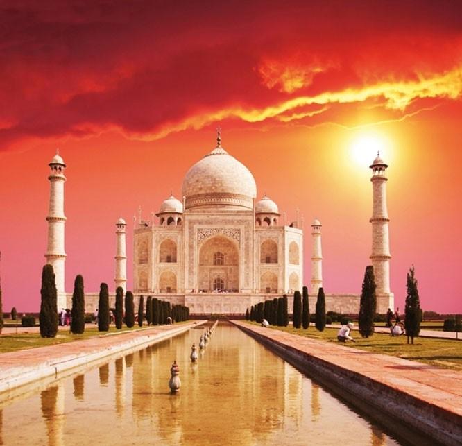 Dutch DigiWalls fotobehang art. 70066 Taj Mahal