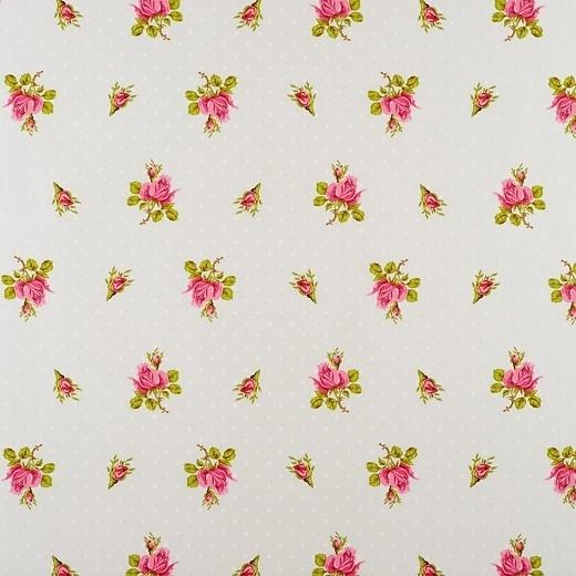 Eijffinger Pip Studio behang  386020 Roses and Dots Wit
