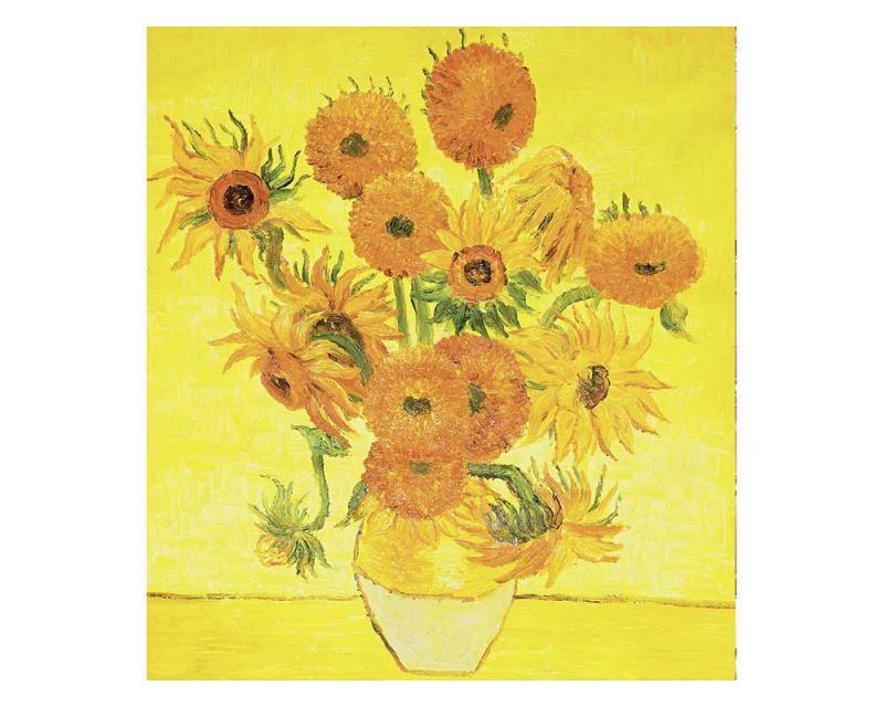Fotobehang Zonnebloemen (van Gogh)
