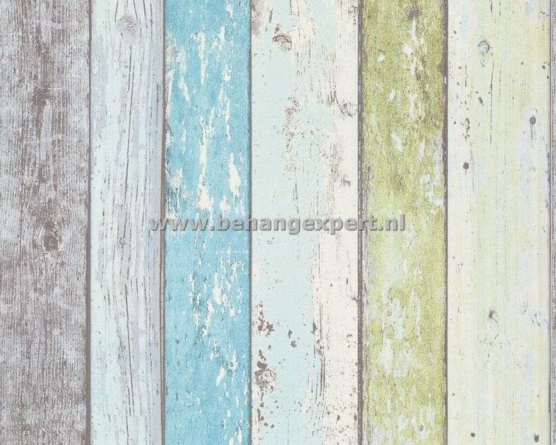 Living Walls 8550-77 sloophout behang