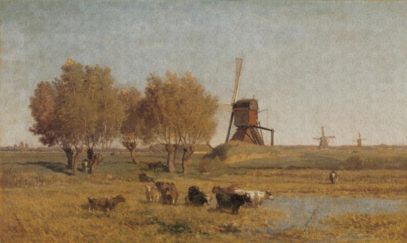 Dutch Painted Memories 8058 Dutch Landscape IV