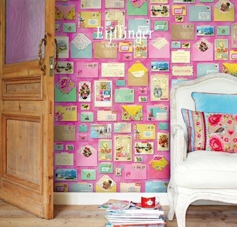 Eijffinger Pip Studio Wallpower 313108 You ` ve got mail pink