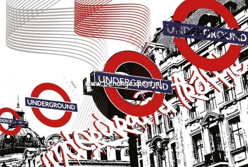 Fotobehang AP Digital 470023 Underground Traffic