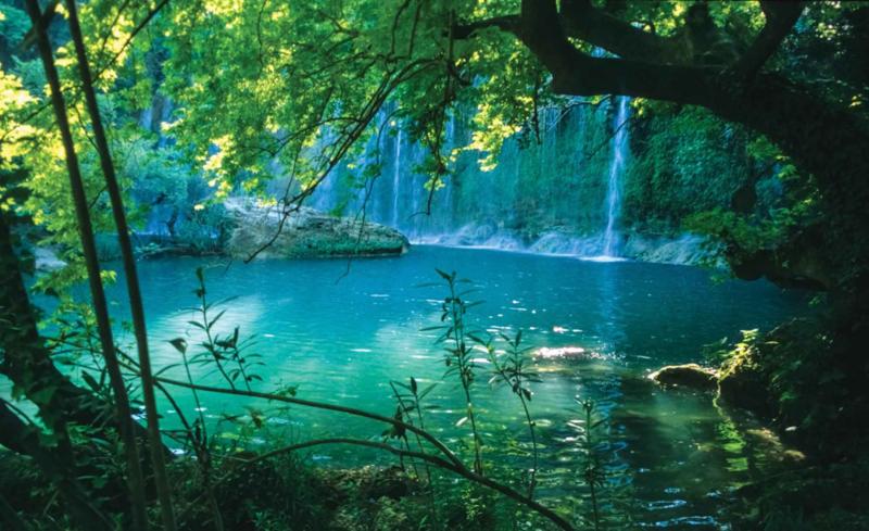 Fotobehang Tropische Waterval