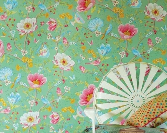Eijffinger Pip Studio behang 341005 Chinese Garden Green