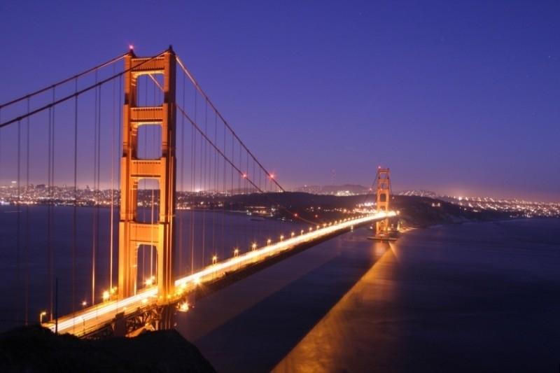 Dutch DigiWalls fotobehang art. 70003 Golden Gate Bridge
