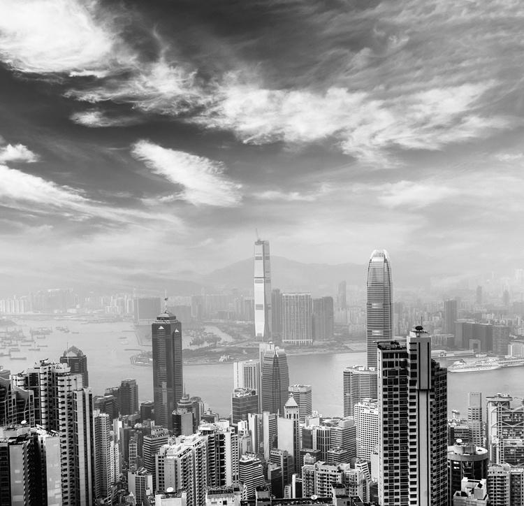 Fotobehang City Love CL83B Hong Kong
