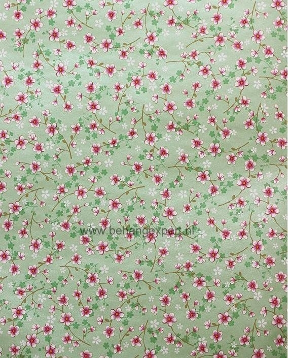 Eijffinger Pip Studio behang 313024 Cherry Blossom Groen