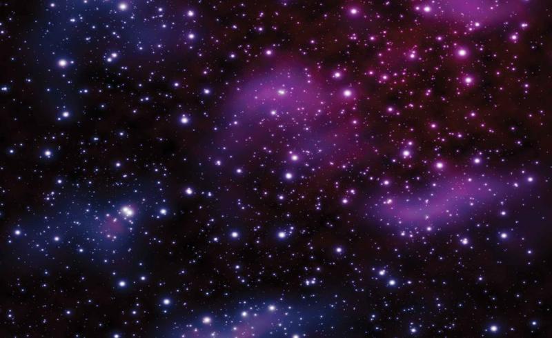 Fotobehang Cosmos Sterren