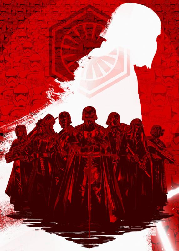 Komar fotobehang DX4-076 Star Wars Supreme Leader