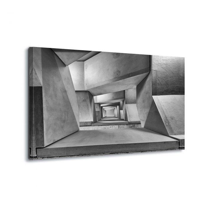 Canvasdoek Downstairs by Guy Goetzinger