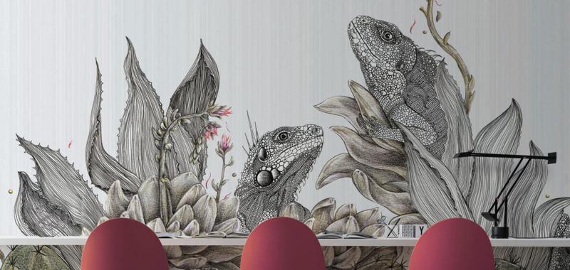 Inkiostro Bianco Iguanas