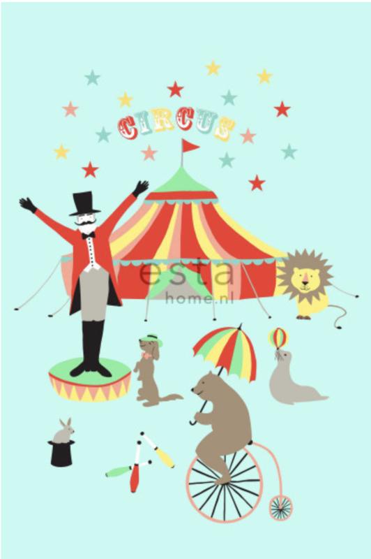 Esta photowall XL2 for kids 158703 Circus
