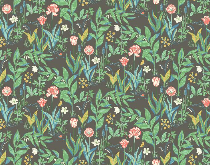 Behang Boras Tapeter- In bloom 7219