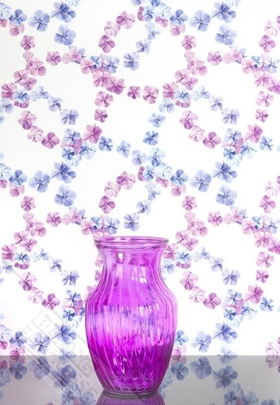 Fotobehang Wallpaper Queen ML228 hortensia