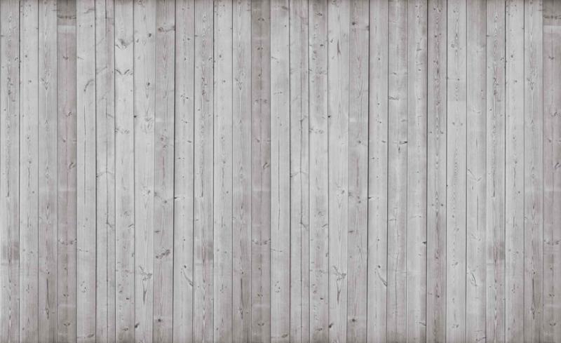 Fotobehang Planken Vergrijsd