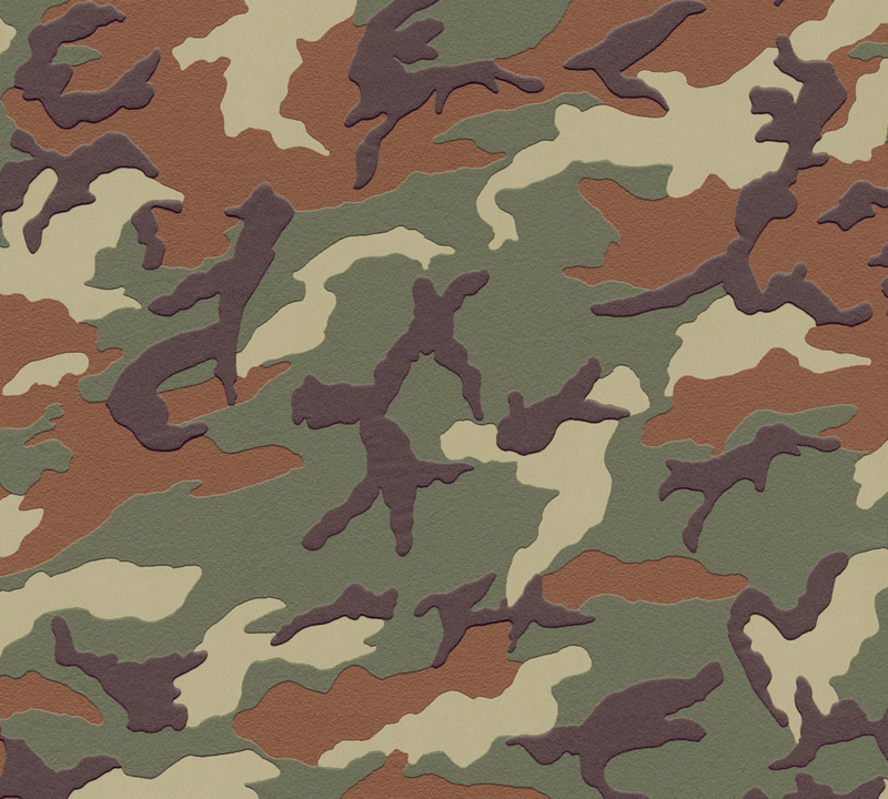 AS Creation Boys & Girls 3694-06 camouflage