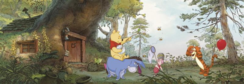 Komar fotobehang 4-413 Poohs House
