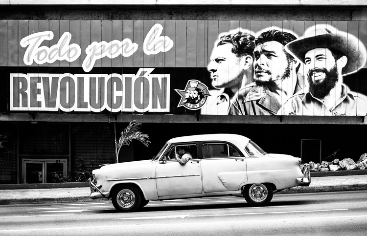 Fotobehang City Love CL68B Havana taxi