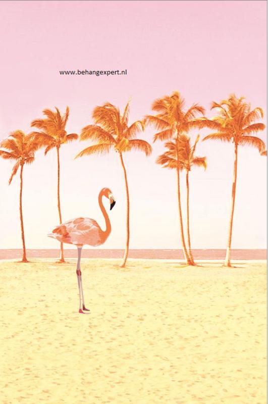 Eijffinger Wallpower Junior 364146 Flamingo Beach