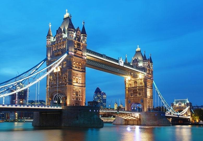 Fotobehang Idealdecor 00959 Tower Bridge