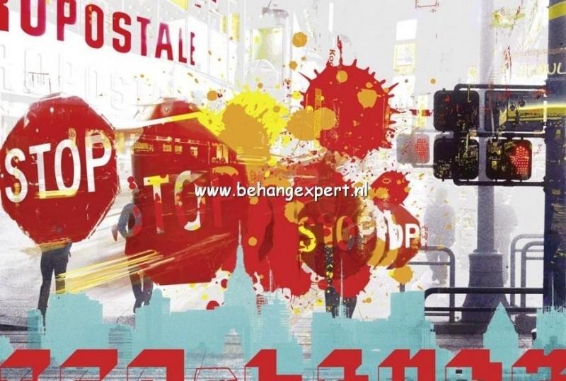 Fotobehang AP Digital 470002 City Stop